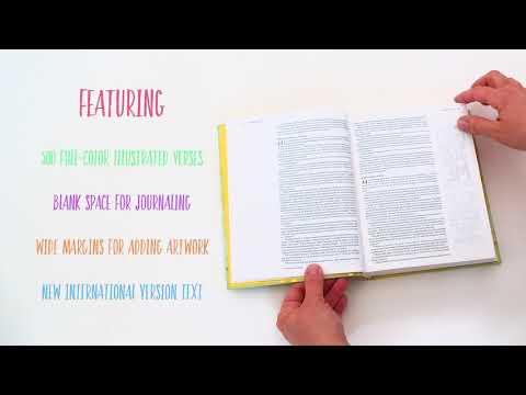 NIV Beautiful Word Bible for Girls - Unboxing