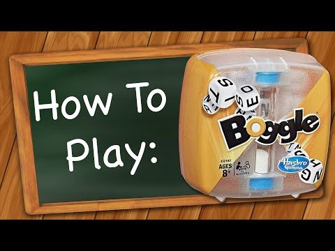 How to Play: Boggle