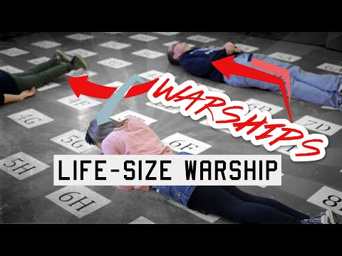 YOUTH GROUP GAMES: Life-Size Warship