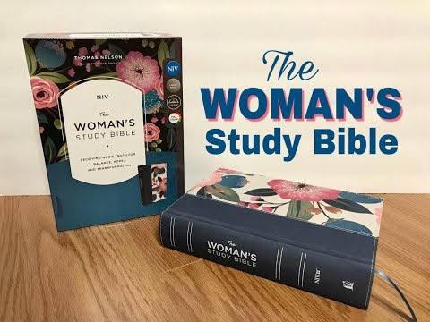 The Woman's Study Bible NIV Review