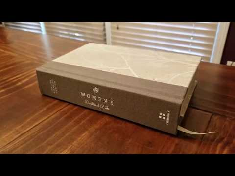 Crossway ESV Women's Devotional Bible (cloth-over-board hardcover) Review