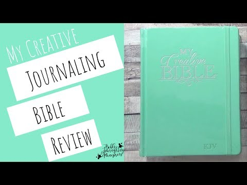My Creative Bible Journal Review - Journaling in the Creative KJV Bible Journal
