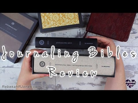 ESV Journaling Bible Review - Comparing 7 Journaling Bibles