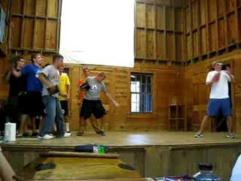 Word- hilarious camp skit