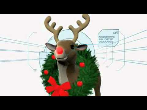 Minute to Win It - Games - Reindeer Nosedive