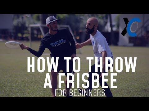 How to Throw a Frisbee for Beginners