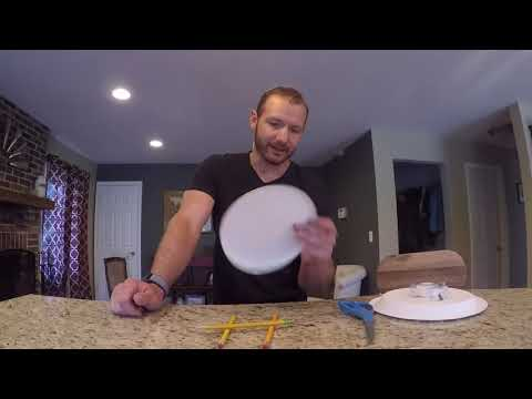 Make your own frisbee. It really works!!