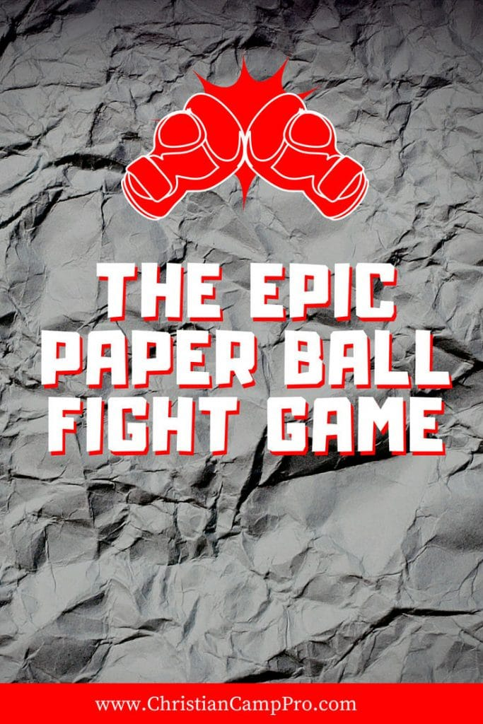 The Epic Paper Ball Fight Game