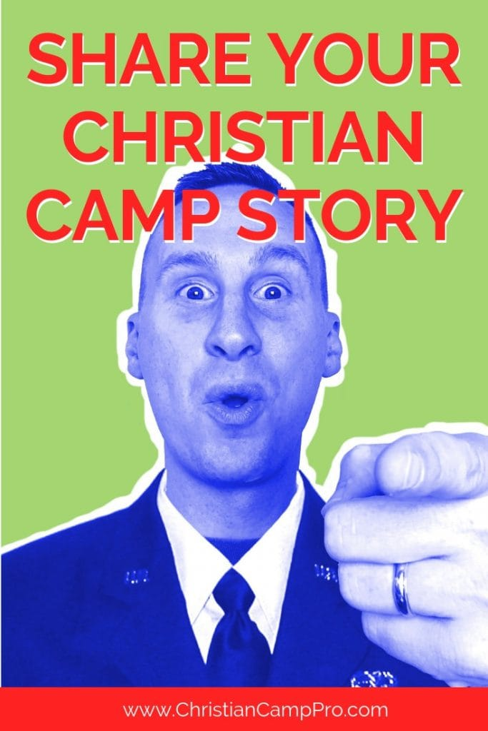 share your christian youth camp story
