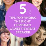 finding the right christian ladies speaker