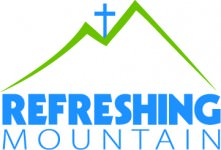refreshing mountain logo