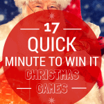 "17 Quick ""Minute To Win It"" Christmas Games"