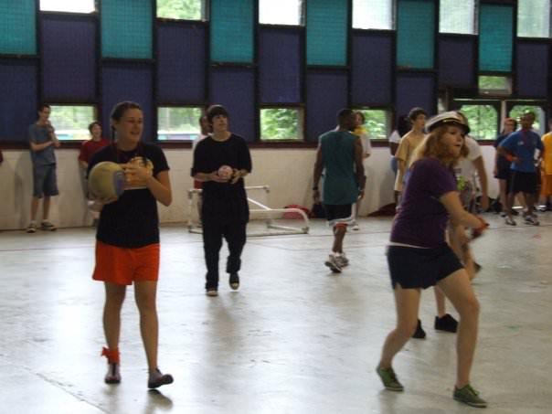 camp dodgeball
