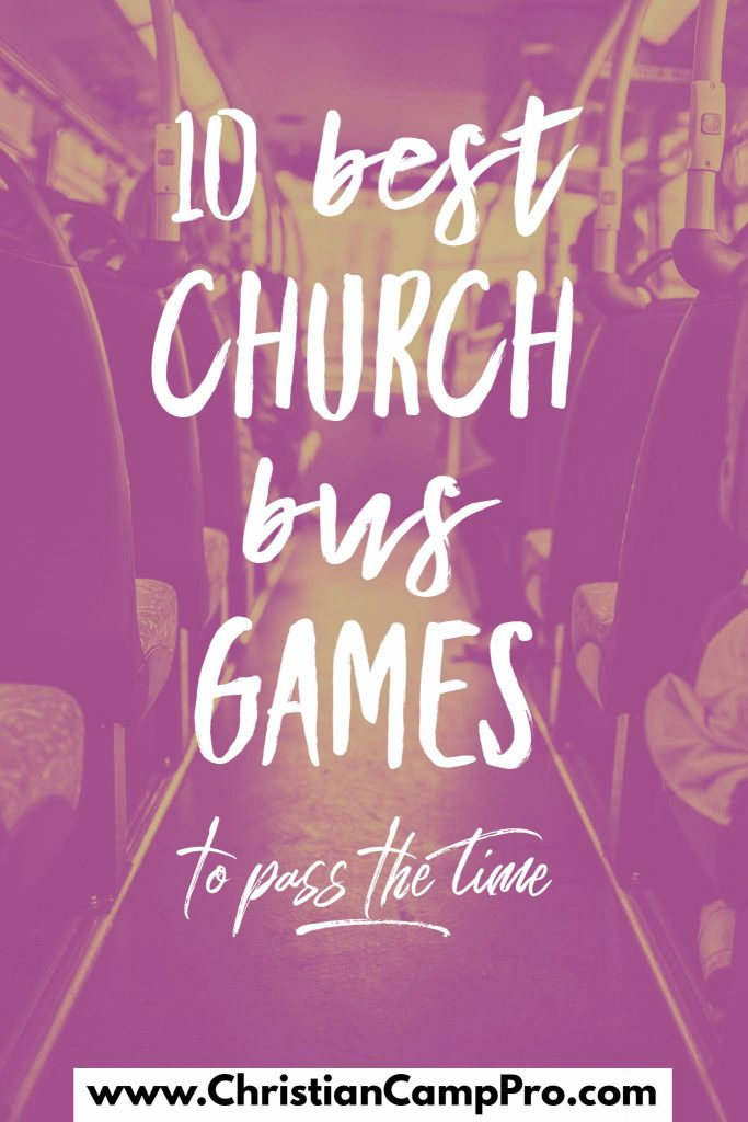 best church bus games