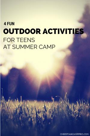 FUN OUTDOOR ACTIVITIES TEENS SUMMER CAMP