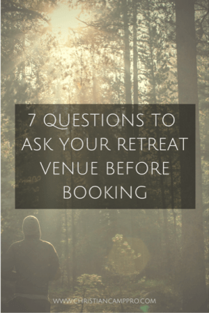 questions to ask before booking venue