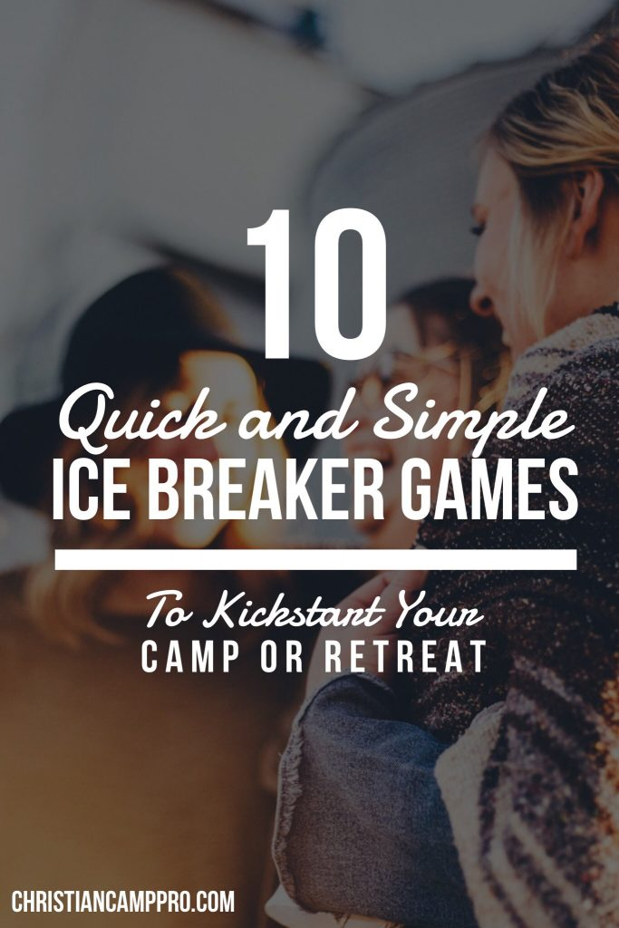 quick and simple ice breaker games
