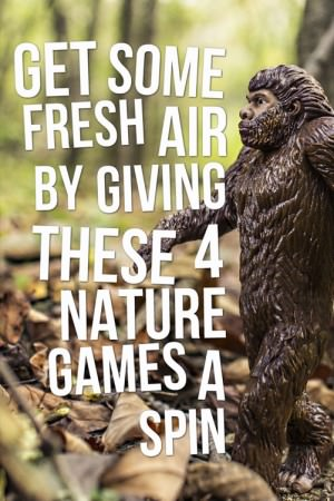 fun nature games for youth