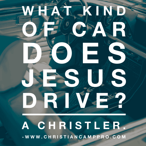 what does jesus drive