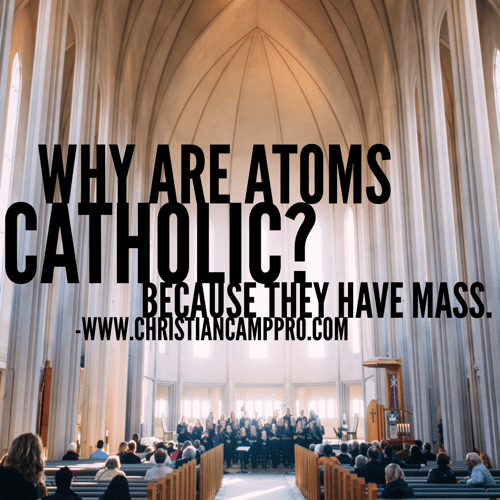 why are all atoms catholic