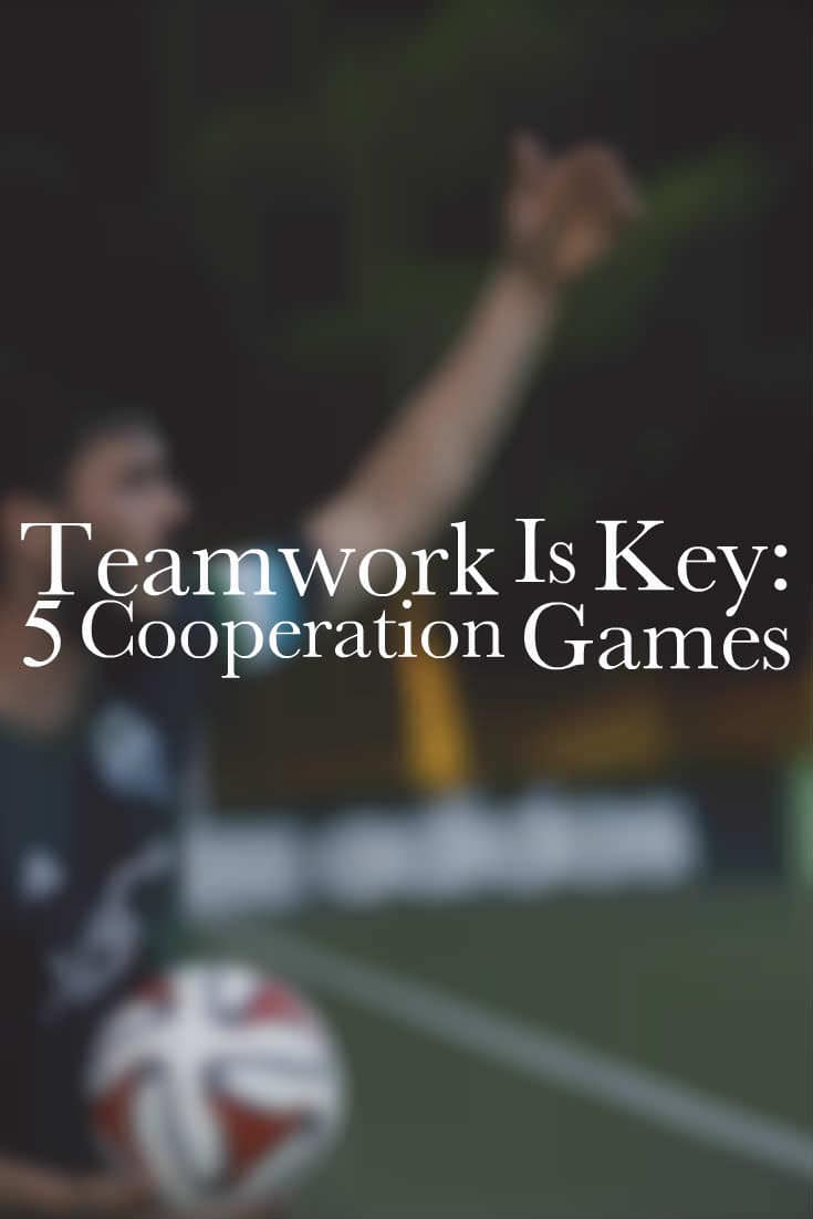 teamwork is key cooperation games christian camp pro