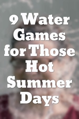 water games for summer