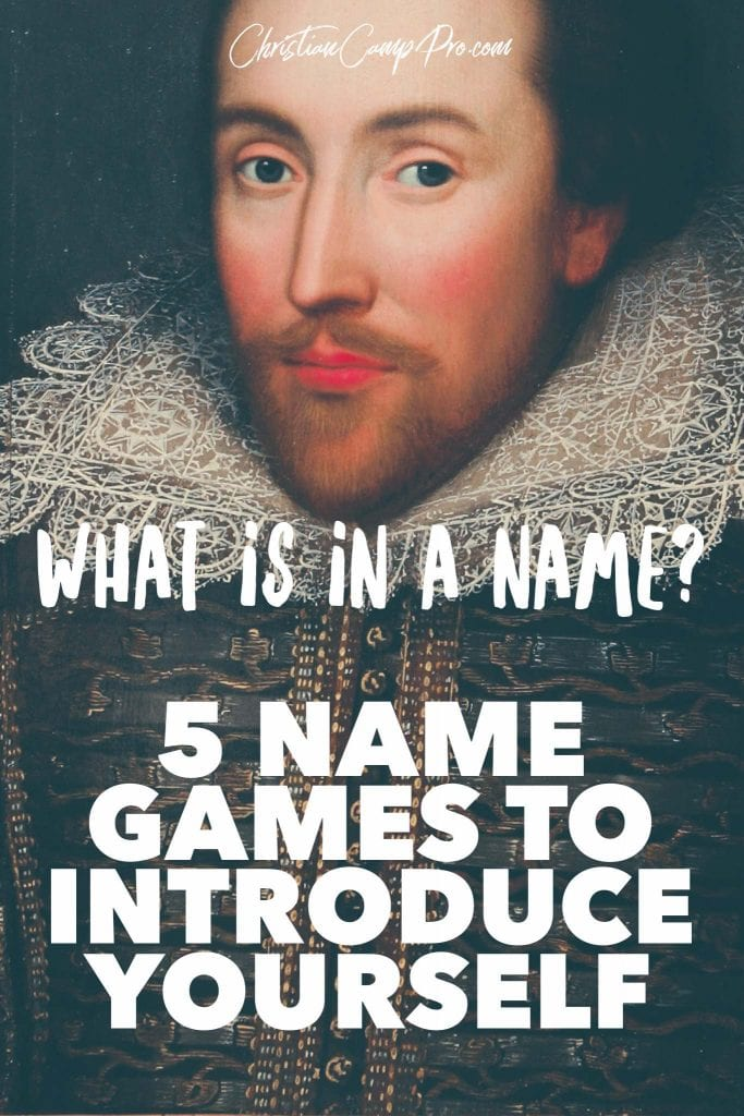 whats in a name name games to introduce yourself