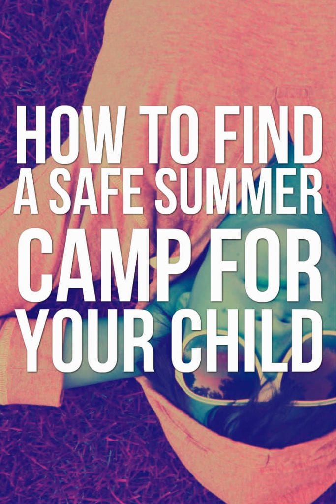 safe summer camp for child