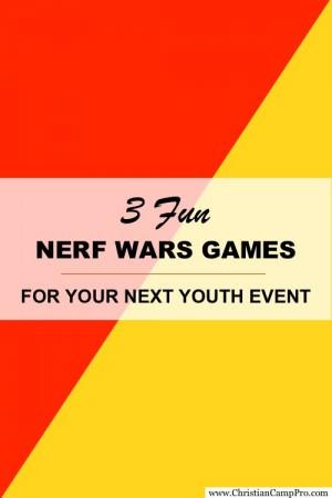 NERF WARS GAMES