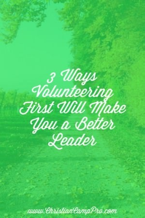 Volunteering makes better leaders