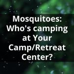 Mosquitoes: Who's camping at Your Camp/Retreat Center?