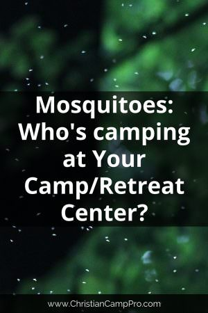 Mosquitoes - Whos camping at Your Retreat Center