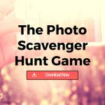 The Photo Scavenger Hunt Game