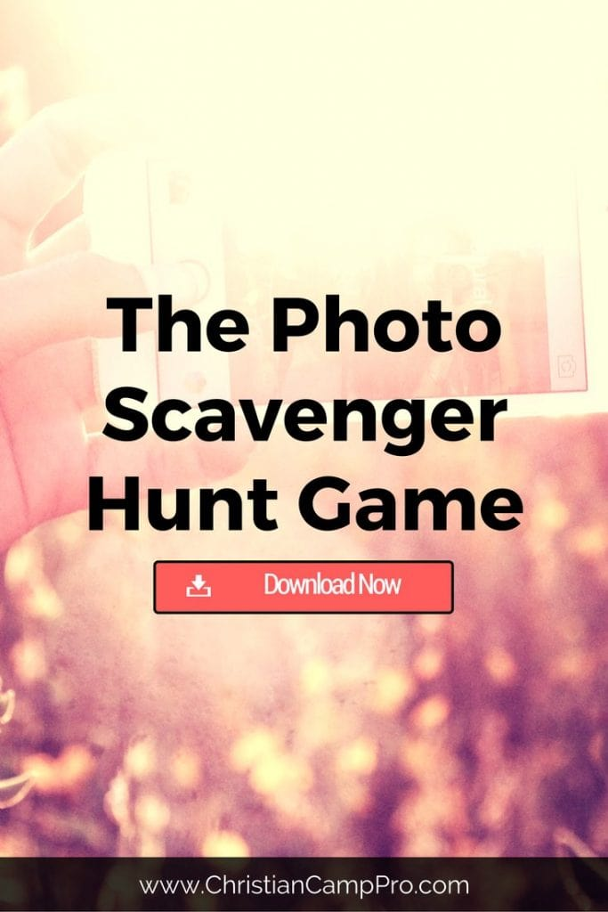 The Photo Scavenger Hunt Game Christian Camp Pro