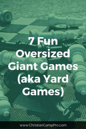 Fun Oversized Giant Yard Games