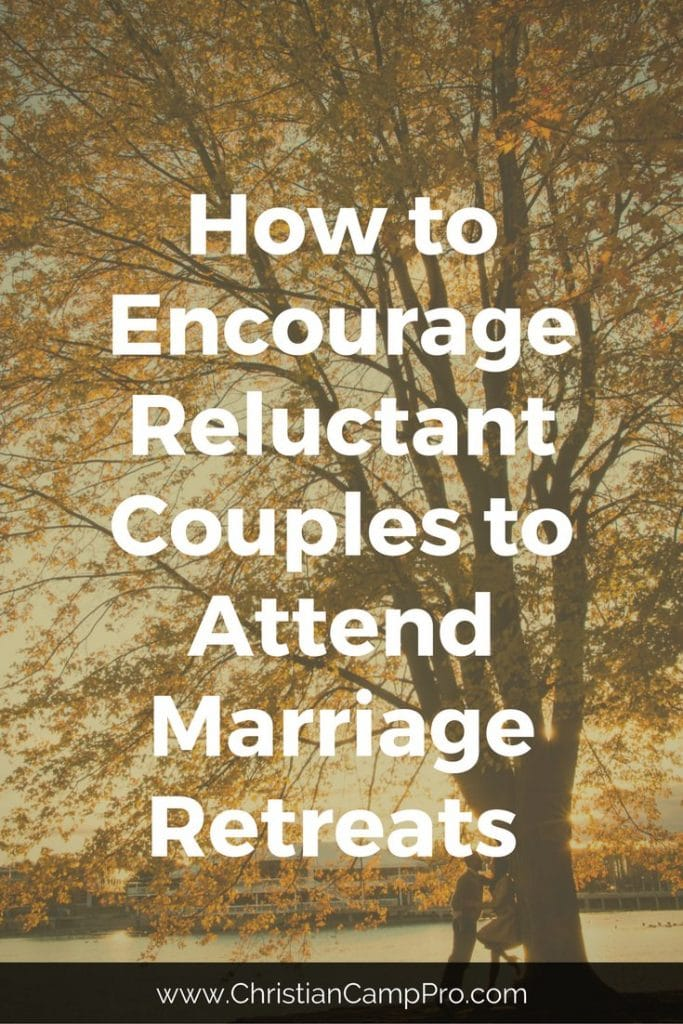 reluctant couples marriage retreat
