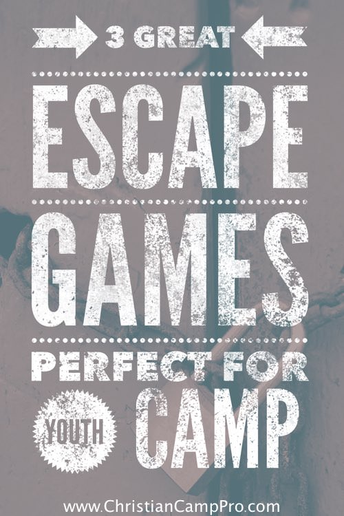 Youth Room Themes: 3 Great Escape Games Perfect For Youth Camp