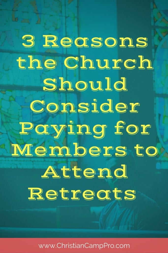 church should pay for retreats