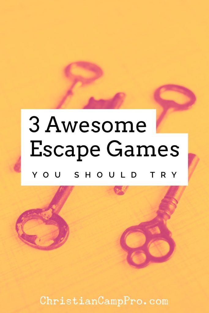 escape game ideas