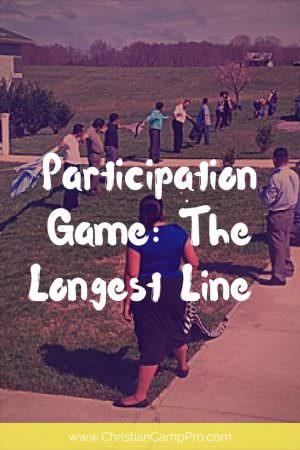 participation game longest line