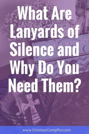 lanyard of silence idea