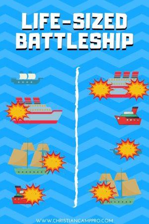 Life-Sized battleship