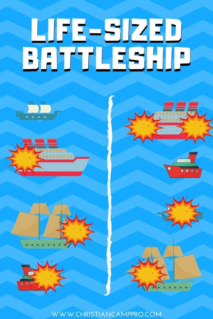 Life-Size Battleship – Interactive Youth Group Game