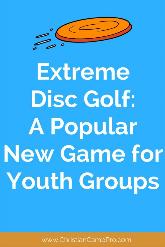 extreme disc golf game