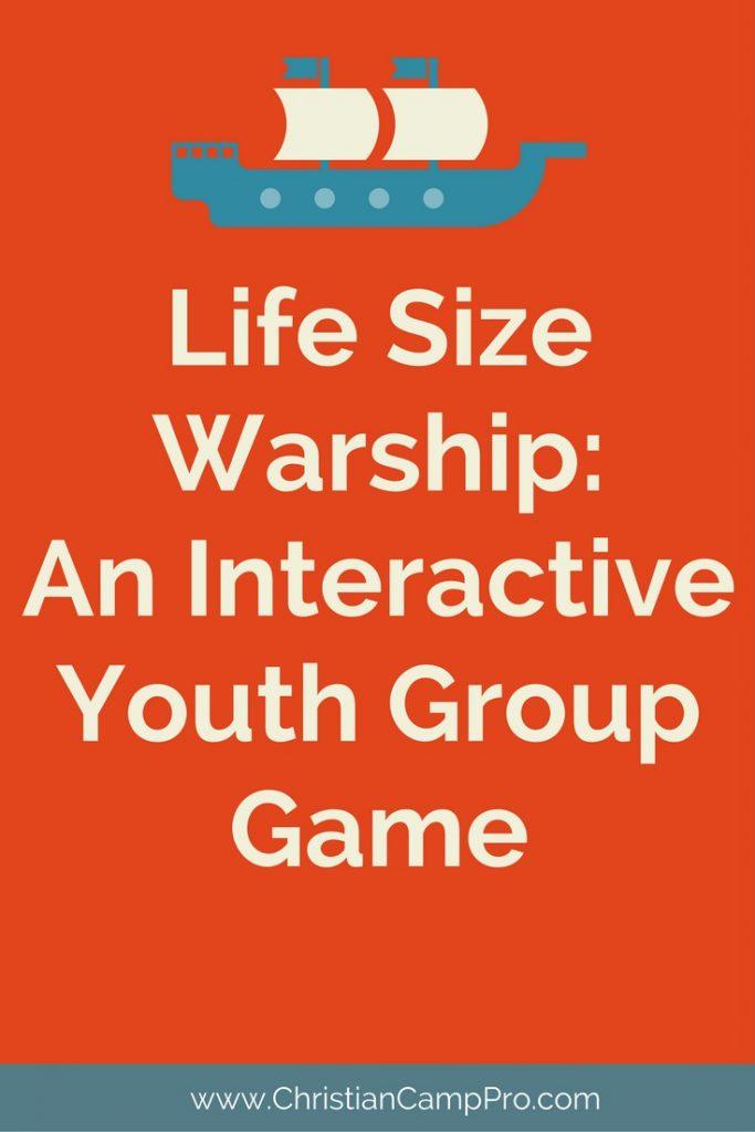 life size warship game
