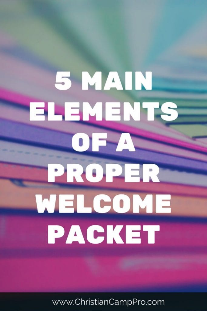 5 Main Elements of a Proper Welcome Packet