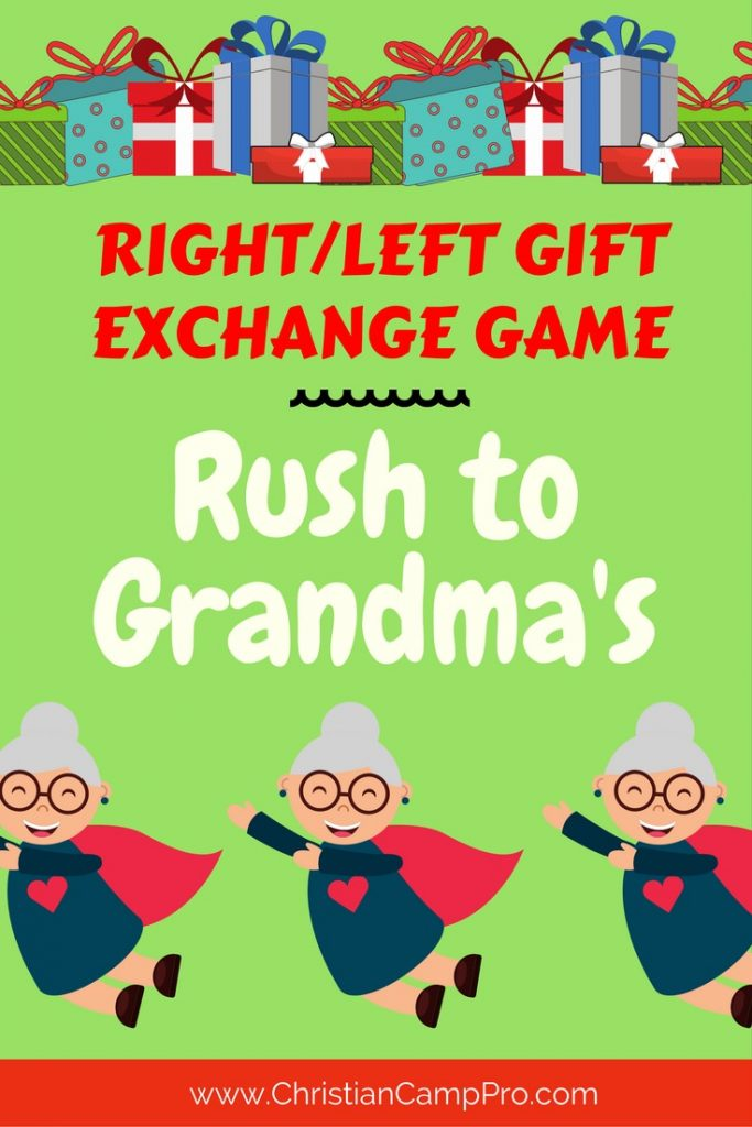 right left game rush to grandmas