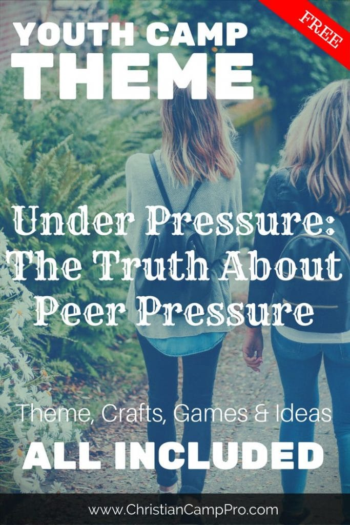peer pressure youth camp theme