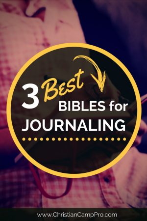 best bibles for journaling