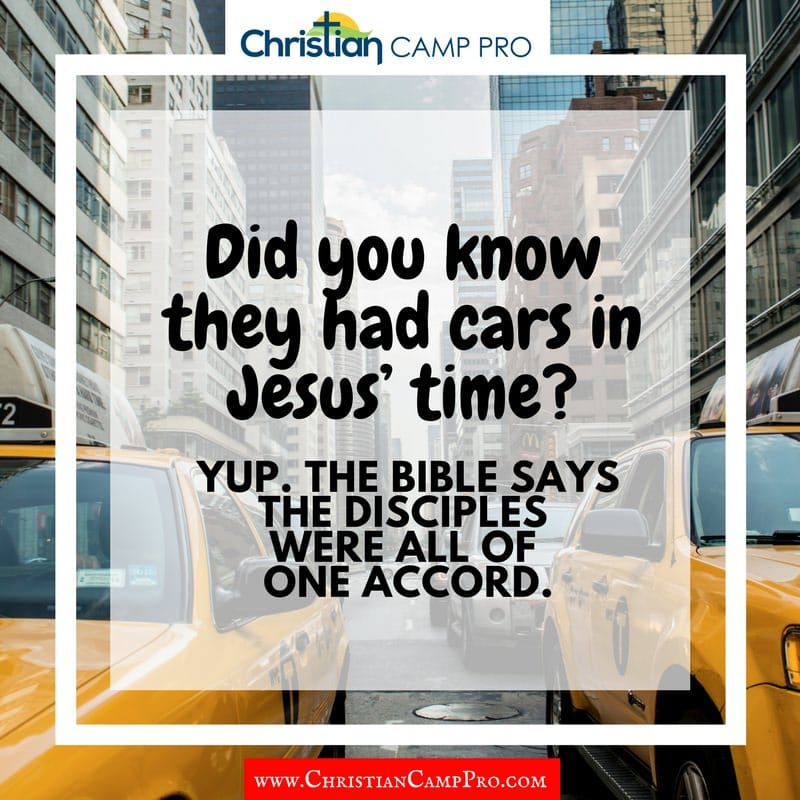 cars in jesus time